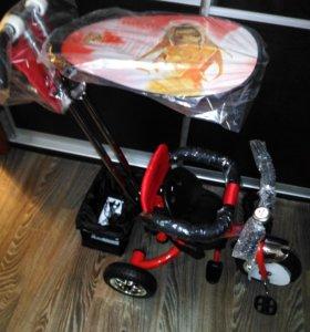 Велосипед трехколесный новый