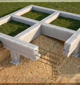 Фундамент,бетон