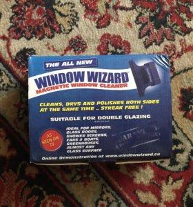 """Магнитная щетка для мытья окон """"Window Wizard"""""""
