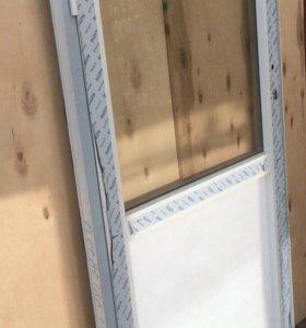 Алюминиевая дверь ш900-в1750