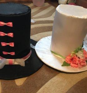 Шляпы на свадебные машины, продажа или аренда