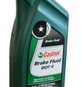 Жидкость торм. Castrol Brake Fluid DOT 4 синт. 1л