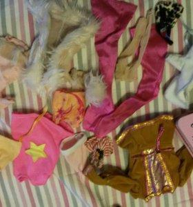 Одежда и аксессуары для кукол барби и братц