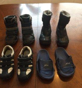 Сапоги ботинки кроссовки шлепки сланцы 29 р