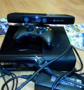 Xbox 360 E-slim + Kineckt