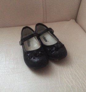 Туфли нарядные 24 25 р