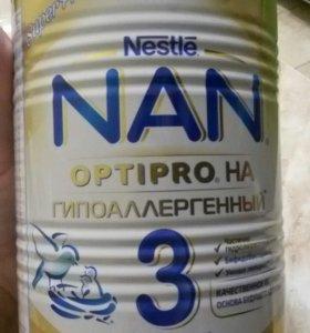 Продам смесь NAN 3 гипоаллергенный