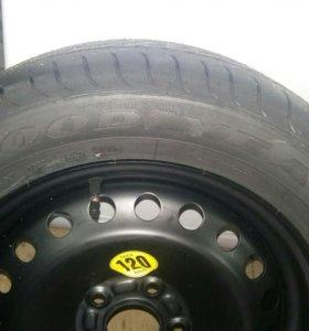 Запасное колесо форд фокус 3