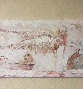 Картина маслом Ангел