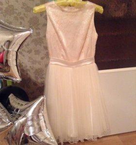Нежное платье на выпускной👸