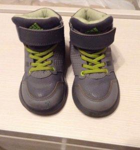 Ботинки Adidas 23 р б/у