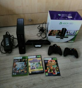 Игровая приставка Xbox 360 (500 Гб+kinect ).