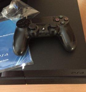 Игровая консоль PS4 500 gb+игра