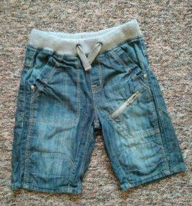Новые джинсовые шорты OVS 5-6лет