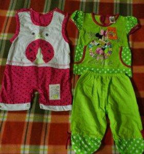 Новая одежда для девочки на лето