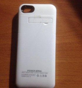 Чехол-зарядка для iPhone 5,5s