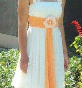 Платье на выпускной. Вечернее платье. 40-44.