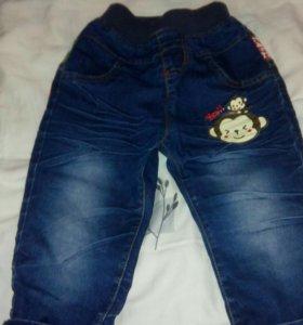 Продам джинсы детские тонкие