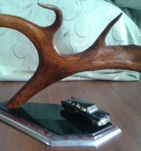 Сувенир из рога северного оленя