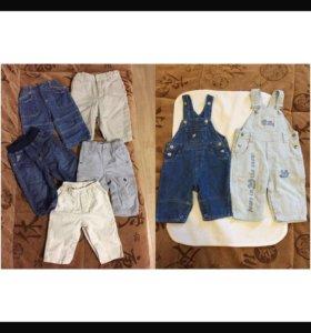Штанишки и джинсы р. 68-74