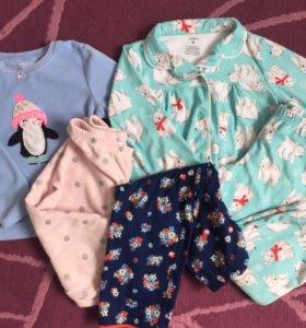 Пижамы Carter's б/у