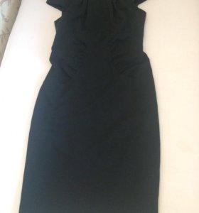Платье чёрное р 40-42