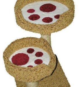 Домик-когтеточка для кошек и котов