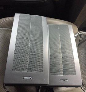 Колонки Philips 12w active&passive surround speake