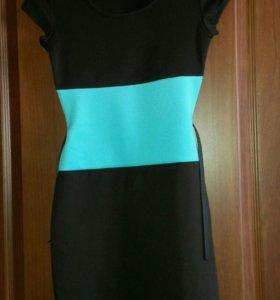 Новое платье с пояском