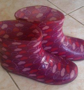 Резиновые сапоги 32 размер