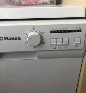 Новая посудомоечная машина Ханза.