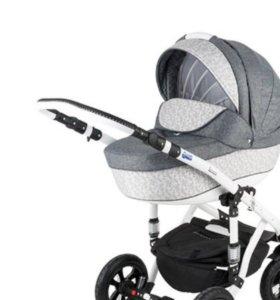 Коляска bebe-mobile toscana модель deluxe 2 в 1