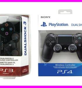 Новый джойстик Dualshock Геймпад PS3 / PS4