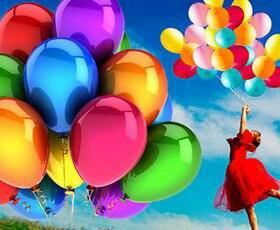 Гелиевые воздушные шары!!!