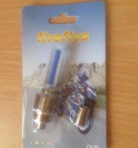 ниппельный фонарик led fireflys