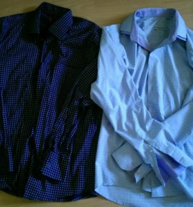 Рубашка мужская L 41-42.