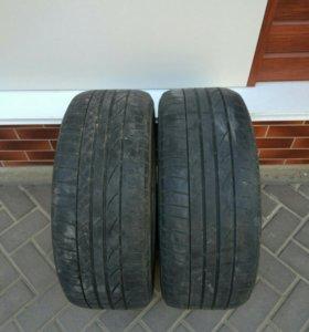 Bridgestone potenza r17 215/50 б/у 2 шт.