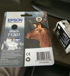 Epson black T1301 - 2шт.