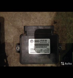 Блок управления стояночного тормоза Audi A6C6 4F
