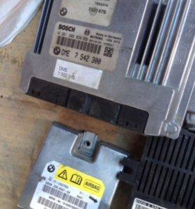 Блок управления двигателем BMW X5 E53 2005 4.8 B