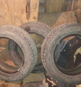 3 шины липучка GRANDTREK DUNLOP 225/65 R-17