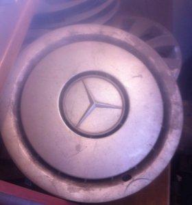Колпаки Mercedes R15 оригинал комплект