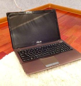 Игровой ноутбук Asus A53s на Core i7