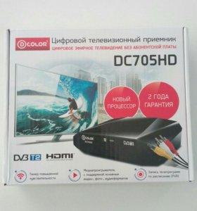 DVB-T2 ресивер, приставка dc705hd