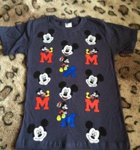 Новая футболка 5-6 лет