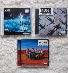 🎶CD MUSE студийные альбомы
