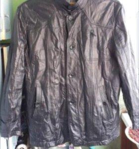 Куртка кожа со стойкой
