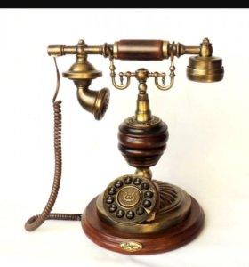 Телефон в ретро стиле Zhiyin collection
