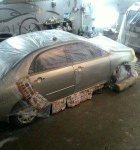 Ремонт авто, кузовной окраска полировка.