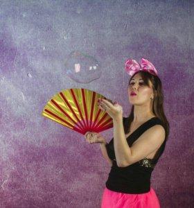 Шоу мыльных пузырей Леры Амбр